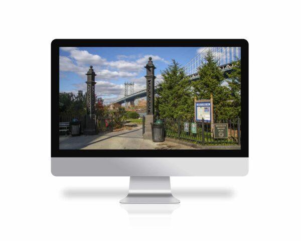 Brooklyn Bridge Park, fondo de pantalla