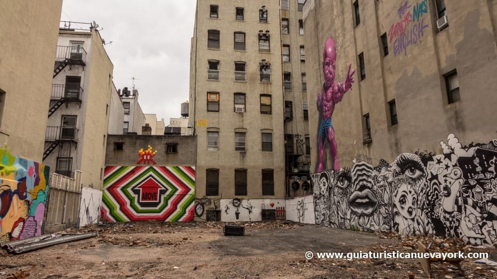Grafitis en SoHo
