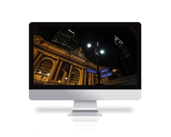 Grand Central y edificio Chrysler, fondo de pantalla