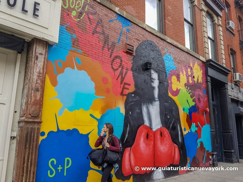 Los Ramones, en Bleecker Street