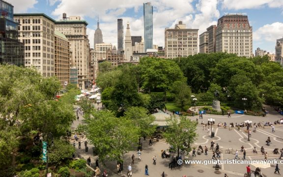 Vista completa de Union Square