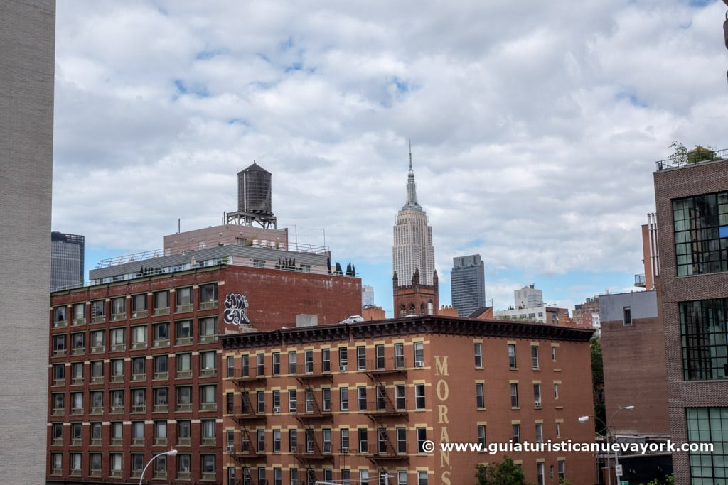 Empire State Building desde la High Line