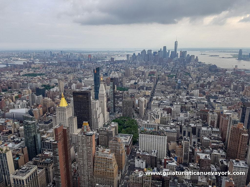 Vista del Sur de la ciudad desde el Empire State