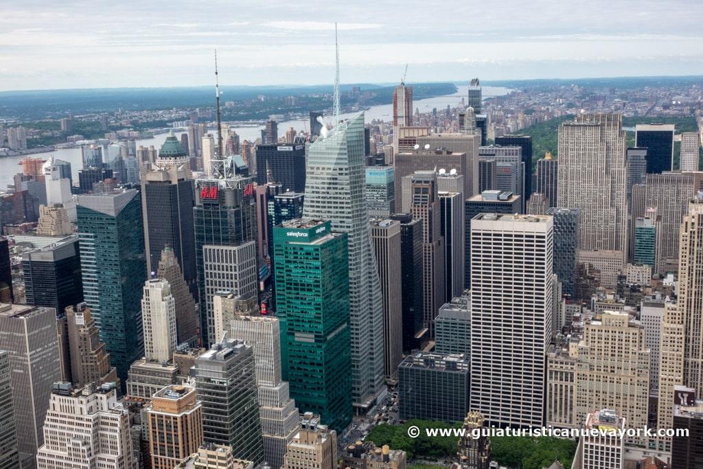 Vista del Norte de la ciudad desde el Empire State