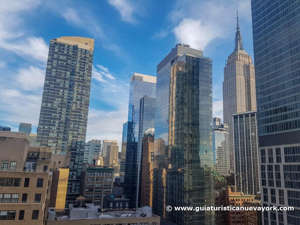 Depósitos de agua de Nueva York y el Empire State